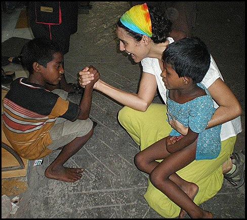 Los niños de Calcuta