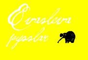 gul elefant liten