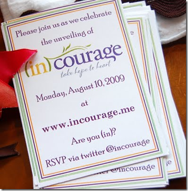 incourage invite