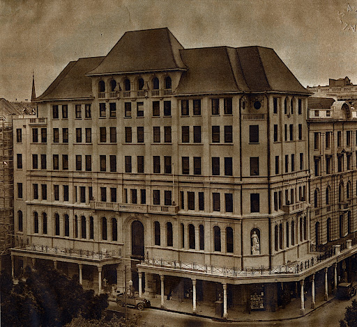 The Taj Cape Town building; a picture from the past.