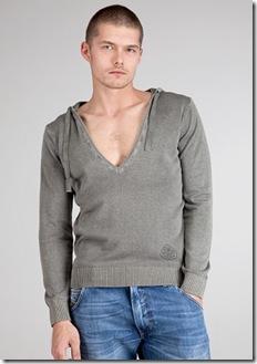 DIESEL K-Pend Grey Pullover