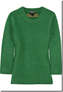 Rochas Fall 2010 Elbow Patch Wool Sweater 2