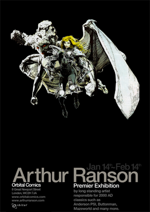Arthur Ranson Exhibition poster