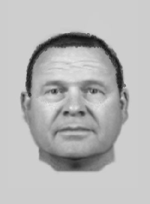 An EvoFit of a suspect being sought in connection with a sex attack in Morecambe on New Year's Day