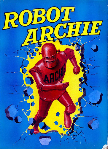 Robot Archie - an image from 1964 © IPC
