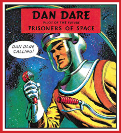 Dan Dare cards are now on sale from Simon Spicer
