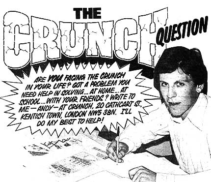 DC Thomson's Deputy Manager of Children's Publishing Euan Kerr - the 'agony uncle' for 1970s comic The Crunch