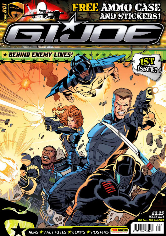 GI Joe Issue 1 UK