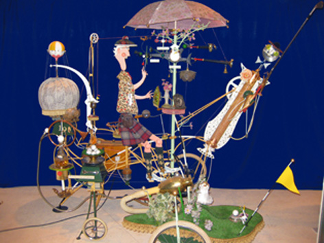 Rowland Emmett's Golf Machine