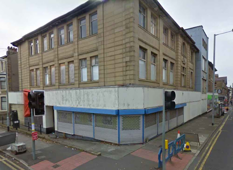 The old Co-op on Regent Road, Morecambe. Via Google Maps