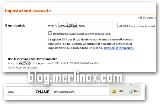 Il tuo blog blogspot non va più? Controlla i DNS!!!