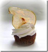 Cupcake decorado, suspiro, dominicano
