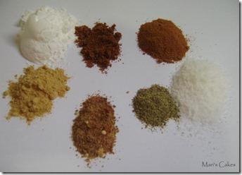 Spices, especias