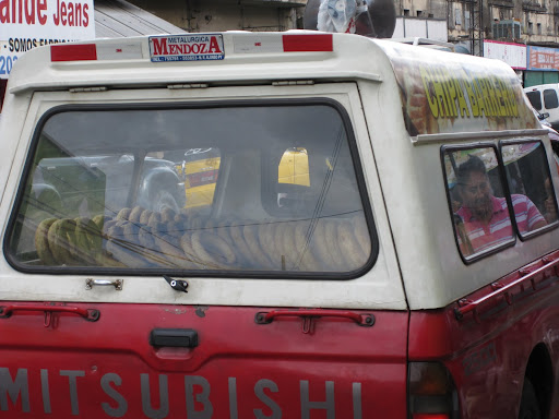 A truckload of chipa, the much-loved cheese bread eaten across Paraguay.