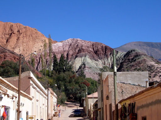Purmamarca and its famous colored hillside