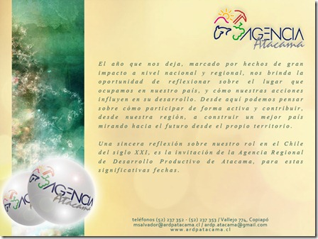 Saludo ARDP 2011