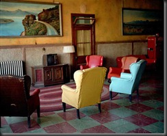 wim wenders lounge painting 2 1983