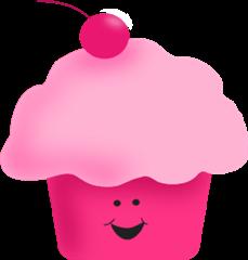 pink-cupcake-transparent