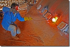 Sand Kiln Firing 129