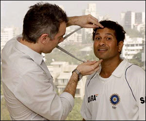 Sachin in a light moment not having a clue whats being measured :)