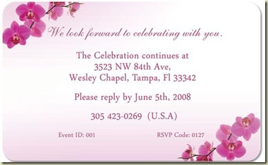 Event Planning and RSVP Services