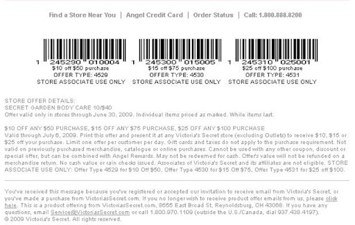 graphic about Victoria Secret Coupons Printable referred to as Victorias Solution Printable Coupon(Fresh) - Printable Coupon Deppot