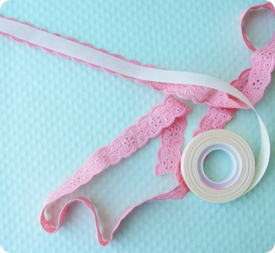 lace tape tutorial
