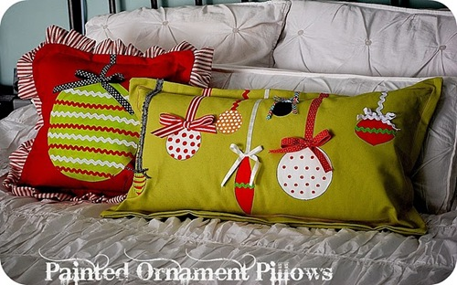 ornament pillow tutorial