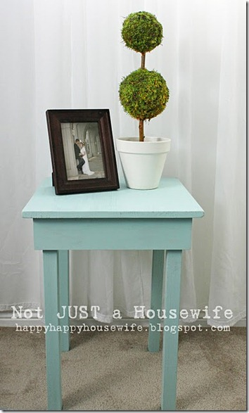 side table tutorial