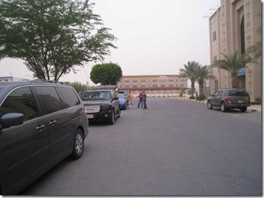 kumpul depan hotel