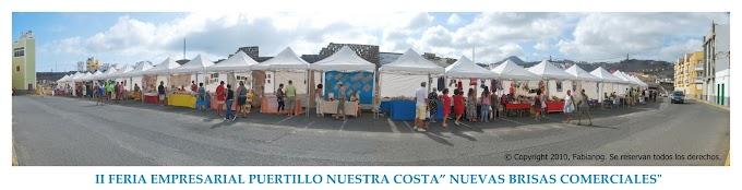 II Feria Empresarial Puertillo Nuestra Costa