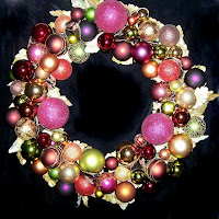 Autumn Gems OWR8014 Holiday Ornament Wreath