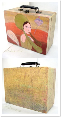 Suitcase front&back