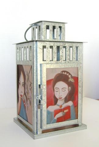 lanterne portraits de femmes grand modèle