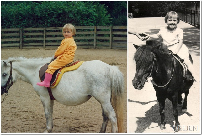 til hest