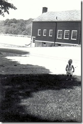 Bryan Mannel - Baby in yard in Coventry - 3
