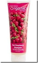 Red raspberry shine enhancing shampoo