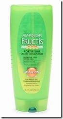 Garnier Fructis Haircare Fortifying Cream Conditioner, Sleek & Shine