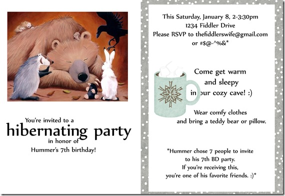 invite to 7th bd