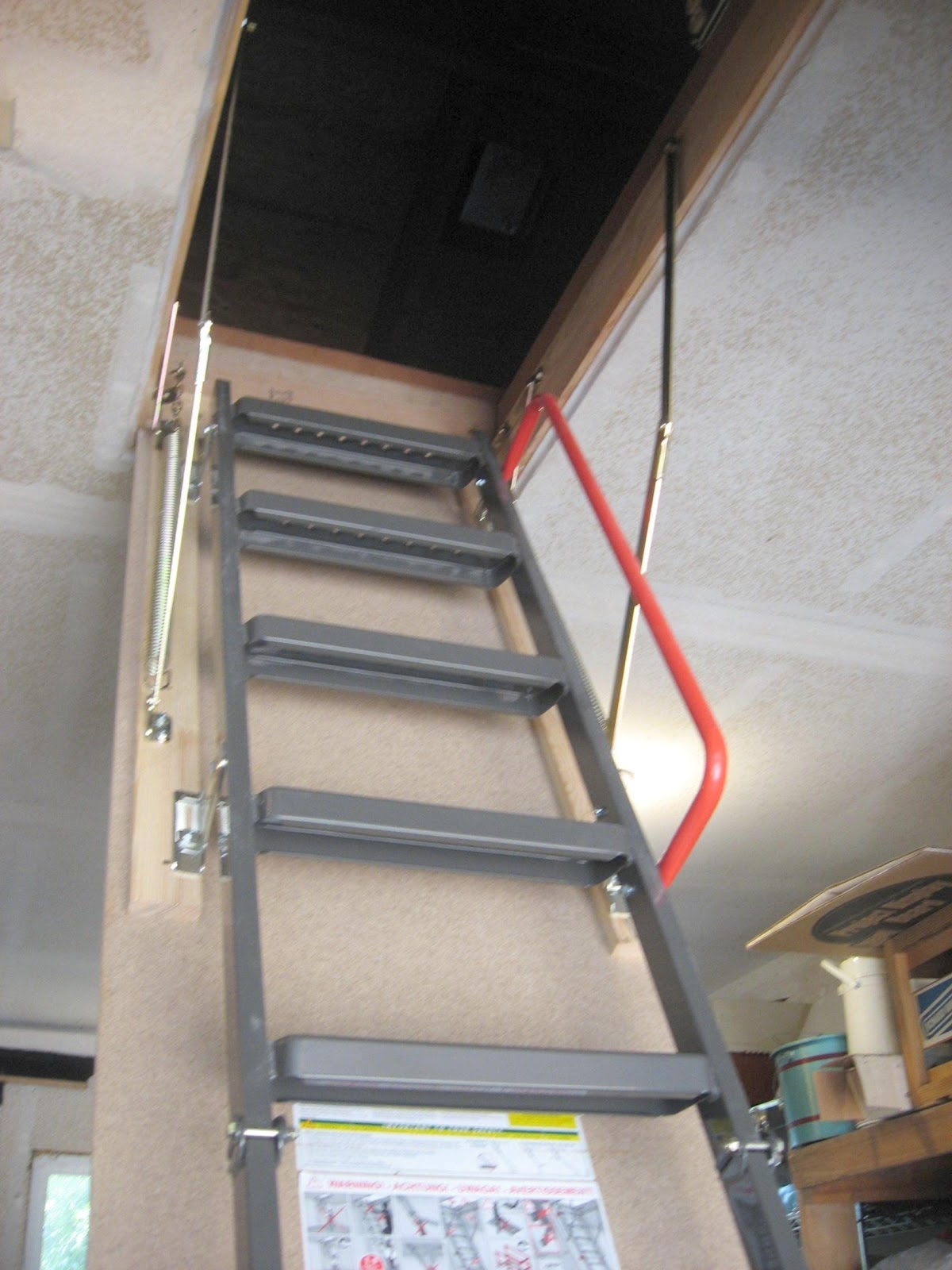 Fakro Attic Ladder Installation Progress R5 Portals