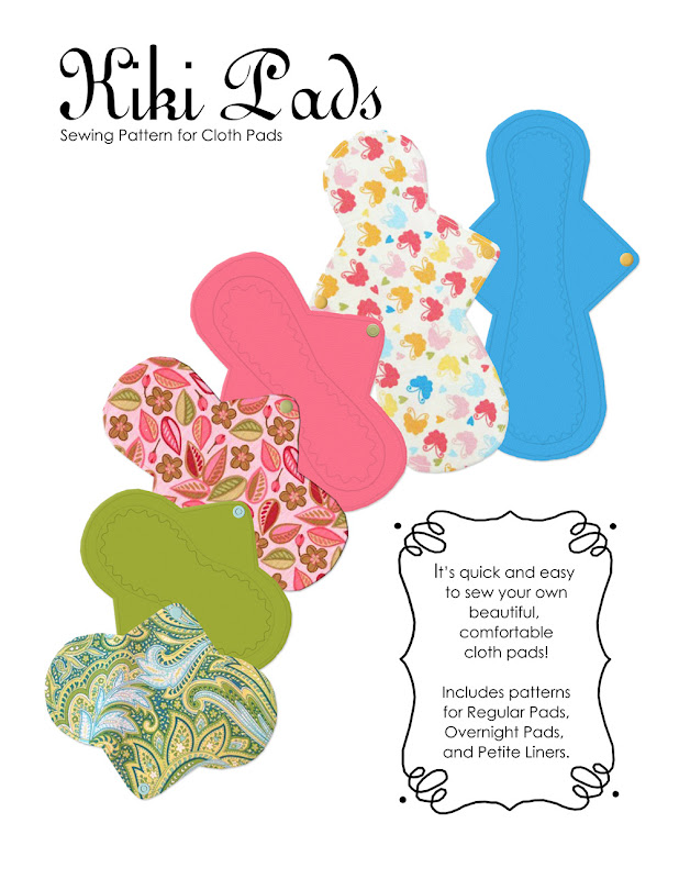 Kiki Pads Cloth Pads- PDF Pattern