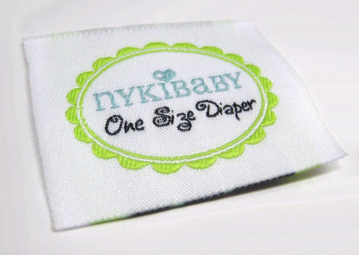 Woven Labels for NykiBaby One Size Diapers