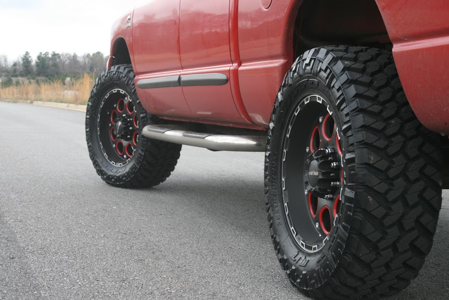 Inch Tires on 2001 Dodge 2500 On 35 Tires