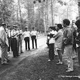 Août 1983 reconstitution au camping de Léon