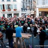 Rencontre Txalaparta tambours brésiliens