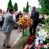 L'hommage des deux municipalités , Irun et Arcangues