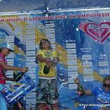 Justine Dupont sur le podium en 2007