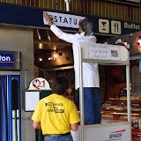 Bayonne octobre 2004 opération bilinguisme à la SNCF