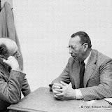 Quelques jours avant le 10 mai meeting à Lauga et rencontre discrète avec Henri Grenet maire de Bayonne