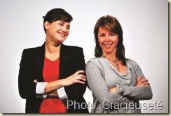 Fra «chement Press ®_01_Caroline Dionne et M ®lanie Lajoie